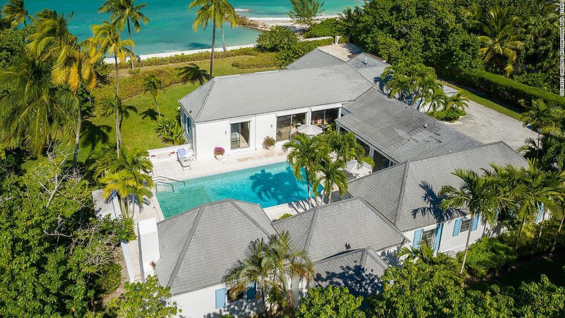 Casa de vacanță a Prințesei Diana Bahamas de vânzare
