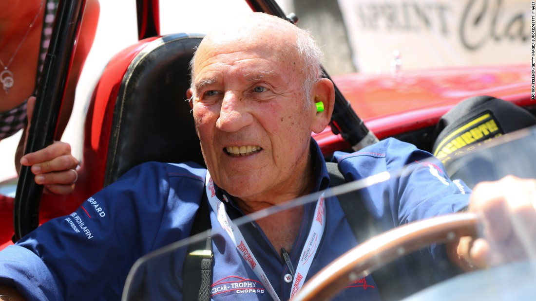 Stirling Moss: A history of Silverstone