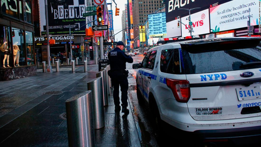 NYPD pierde al 20-lea membru în favoarea Covid-19