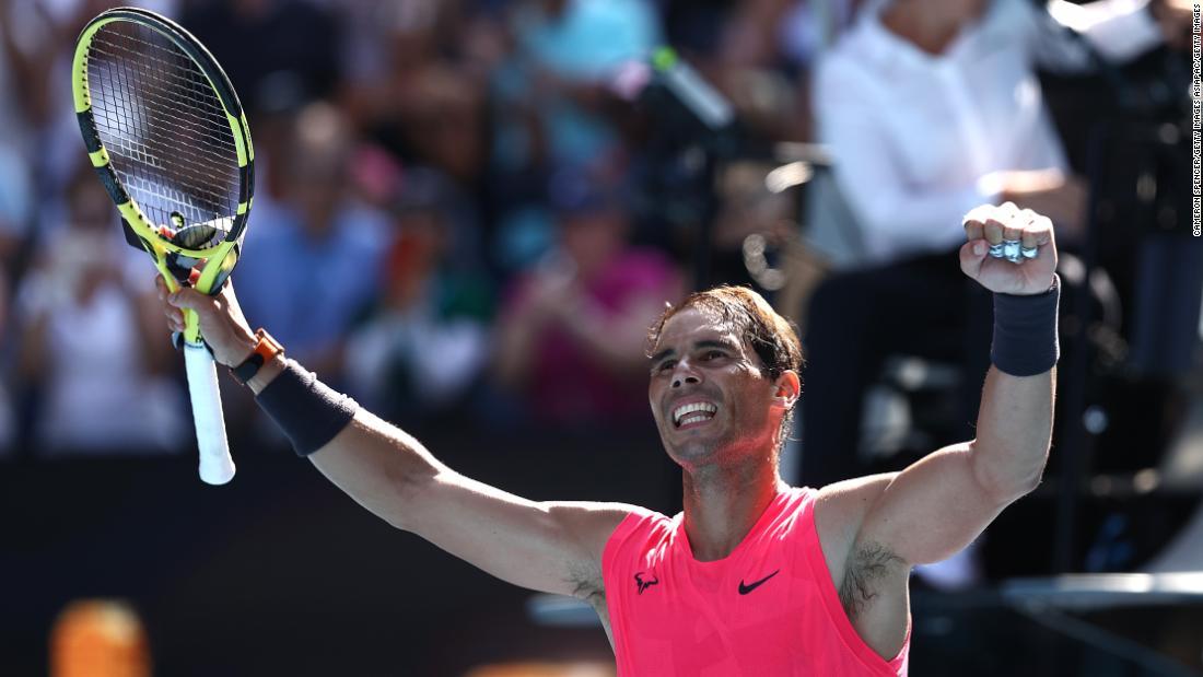 Rafael Nadal avansează în primul tur al Australian Open