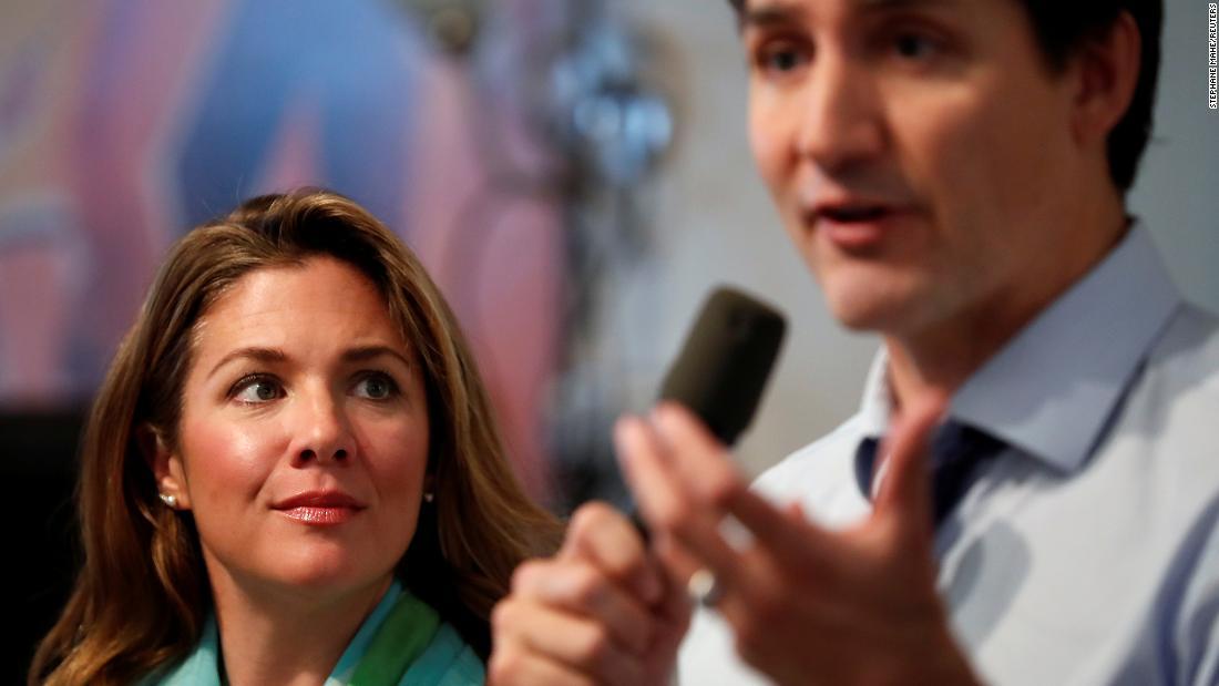 Soția lui Justin Trudeau, Sophie Trudeau, este pozitivă pentru coronavirus