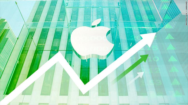 Stocurile Apple înregistrează un nivel record