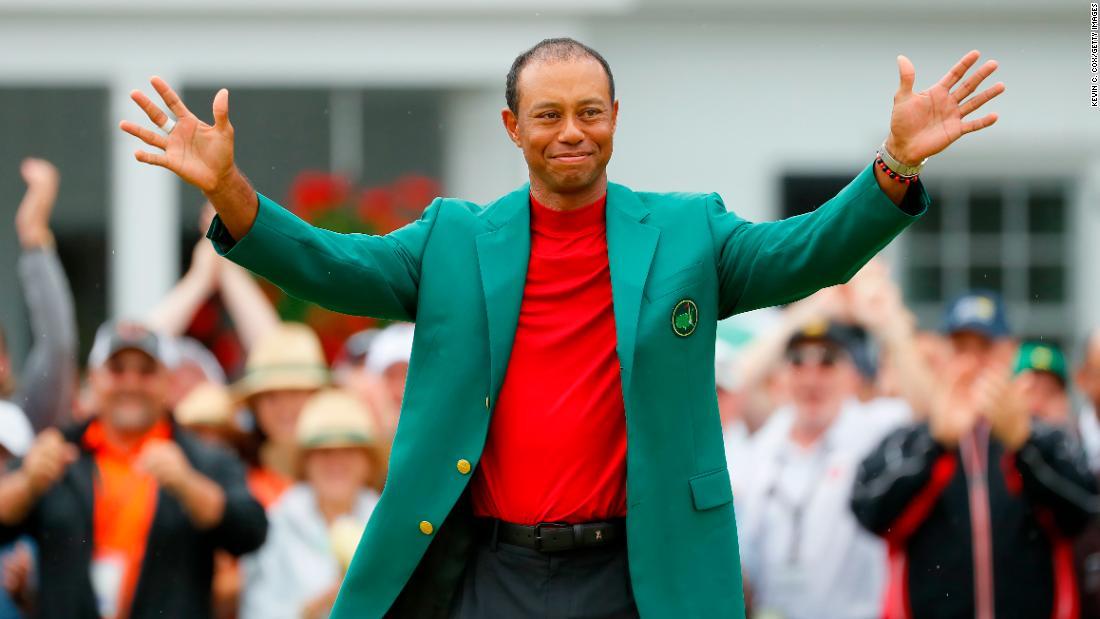 Victoria lui Tiger Woods îl face pe Jack Nicklaus să tremure în ghetele mele