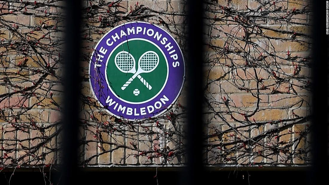 Wimbledon a fost anulat din cauza unei pandemii coronavirus