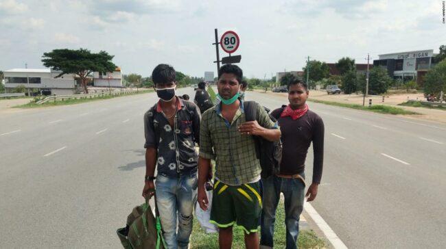 India: închiderea coronavirusului: un bărbat atroce călătorește 1.250 de mile acasă ... pe jos