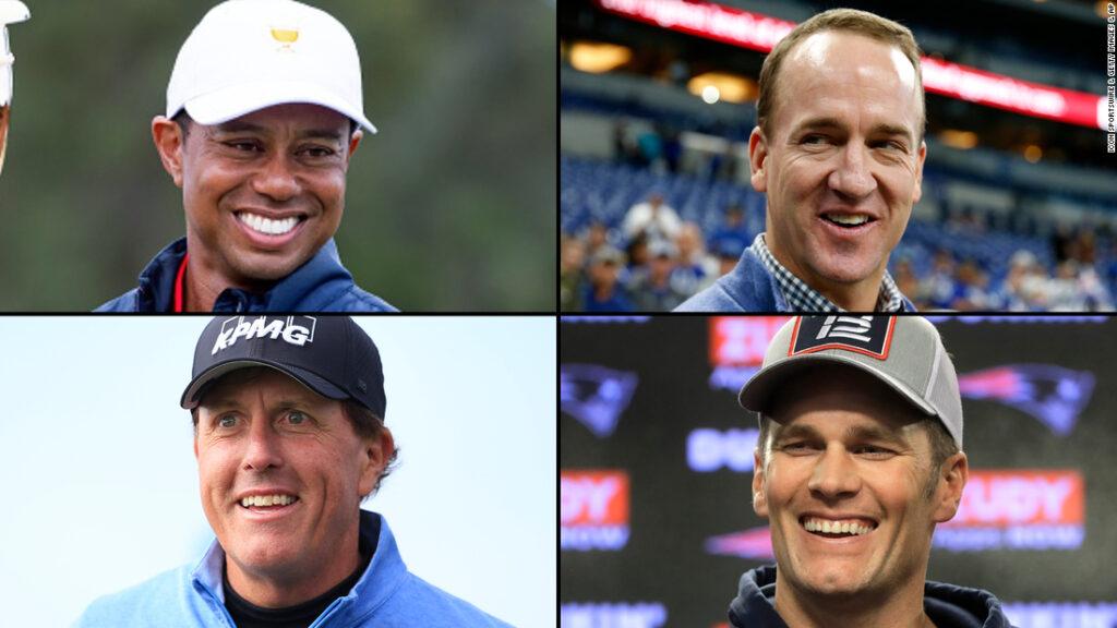 Meciul: Campionii pentru caritate – pachet de redevențe sport pentru un joc de golf de 10 milioane de dolari de caritate