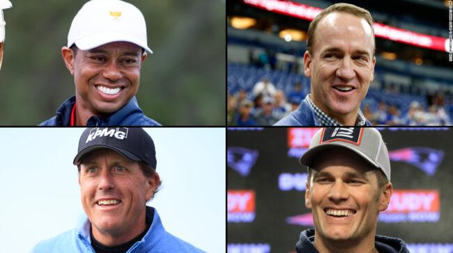 Meciul: Campionii pentru caritate - pachet de redevențe sport pentru un joc de golf de 10 milioane de dolari de caritate