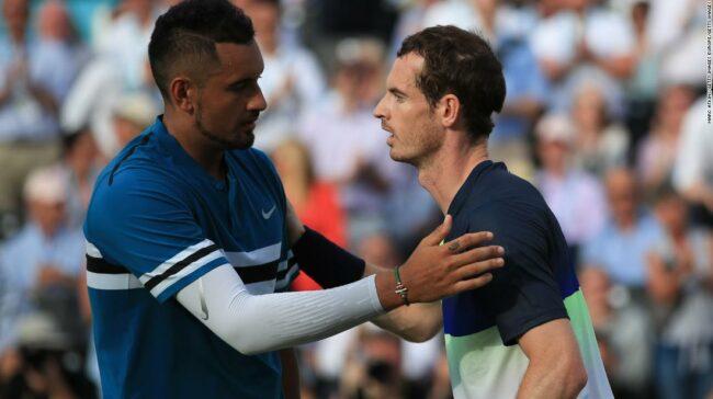 Nick Kyrgios Permite Novak Djokovic să zboare în chat-ul de blocare