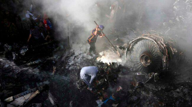 Pakistan: prăbușirea cutiei negre după 97 de morți