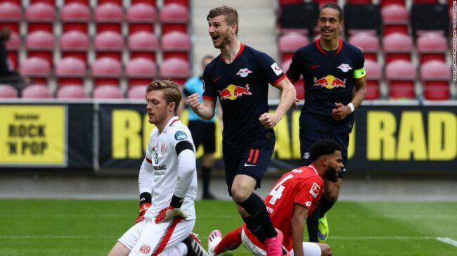 Werner's Leipzig produce mai multe mizerii echipelor de acasă la întoarcerea din Bundesliga