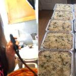 """În concediu de la serviciu, acum este """"Lasagna Lady"""" care pregătește mese gratuite pentru primii respondenți și prieteni"""