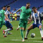"""Asistența """" magică """" a lui Karim Benzema oferă Real Madridului avantajul față de Barcelona în cursa cu titlul La Liga"""