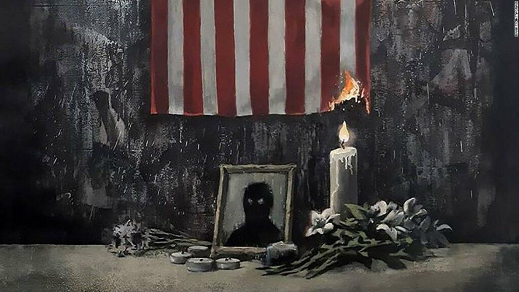 Banksy împărtășește noi opere de artă care susțin Black Lives Matter