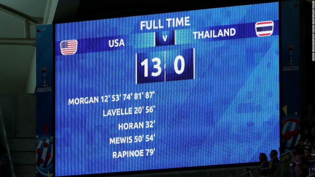 Cupa Mondială a Femeilor: scor 13-0 care a trimis undele de șoc în întreaga lume