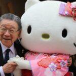 Fondatorul Hello Kitty, în vârstă de 92 de ani, predă nepotului afacerile