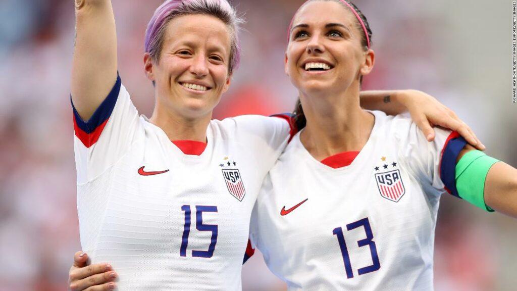 Fotbalul feminin se transformă în Germania și Statele Unite în plină pandemie la aniversarea Cupei Mondiale