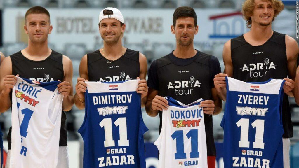 Grigor Dimitrov: un eveniment de tenis organizat de Novak Djokovic în centrul atenției atunci când jucătorii sunt pozitivi pentru coronavirus