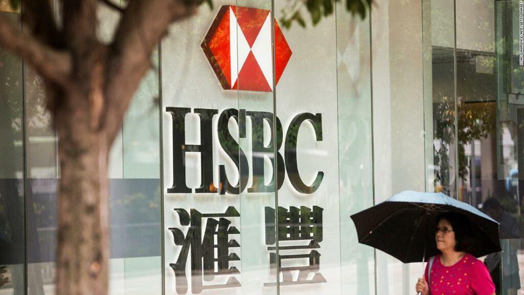 HSBC ia căldură din toate părțile după ce a sprijinit China pe Hong Kong