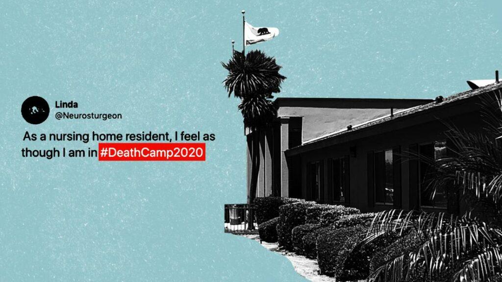 """Locuitor la casă de îngrijire medicală: """"Simt că sunt în # DeathCamp2020"""""""