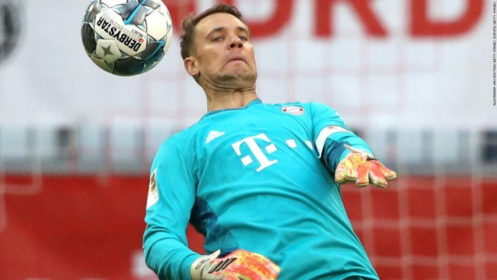 """Manuel Neuer: Portarul Bayern Munchen dezvăluie cum este să joci în """" jocurile fantomă """" ale fotbalului"""
