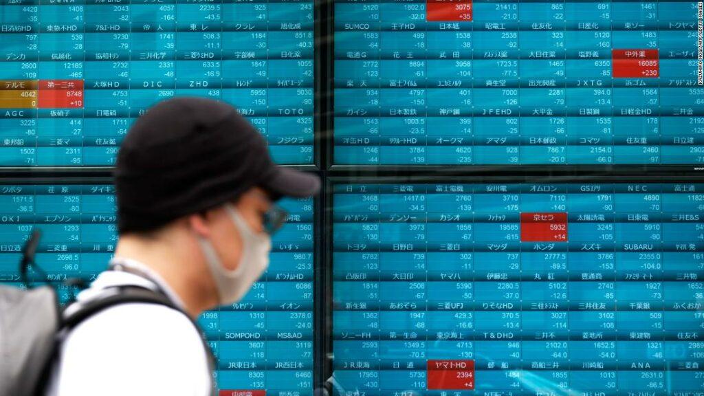 Piețele asiatice se declanșează după îngrijorările cu privire la virusul american au sporit vânzările Wall Street