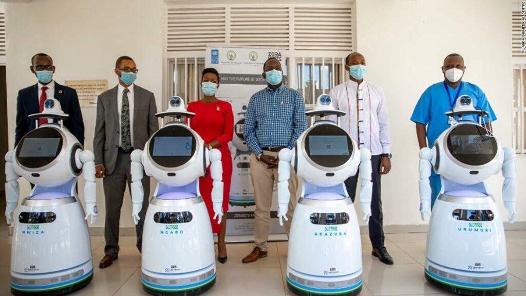Rwanda a înscris roboți anti-epidemici în lupta sa împotriva coronavirusului