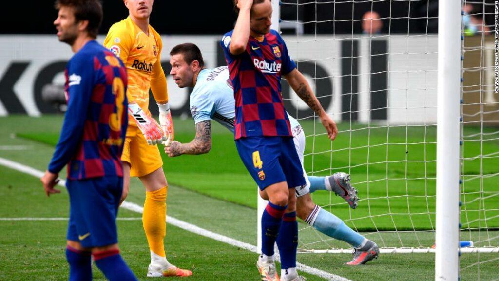 Titlul de la Barcelona speră să slăbească după remiza la Celta Vigo