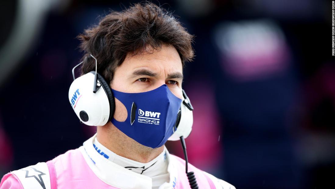 Șoferul de Formula 1 Sergio Perez testează pozitiv pentru Covid-19 și va rata Marele Premiu al Marii Britanii