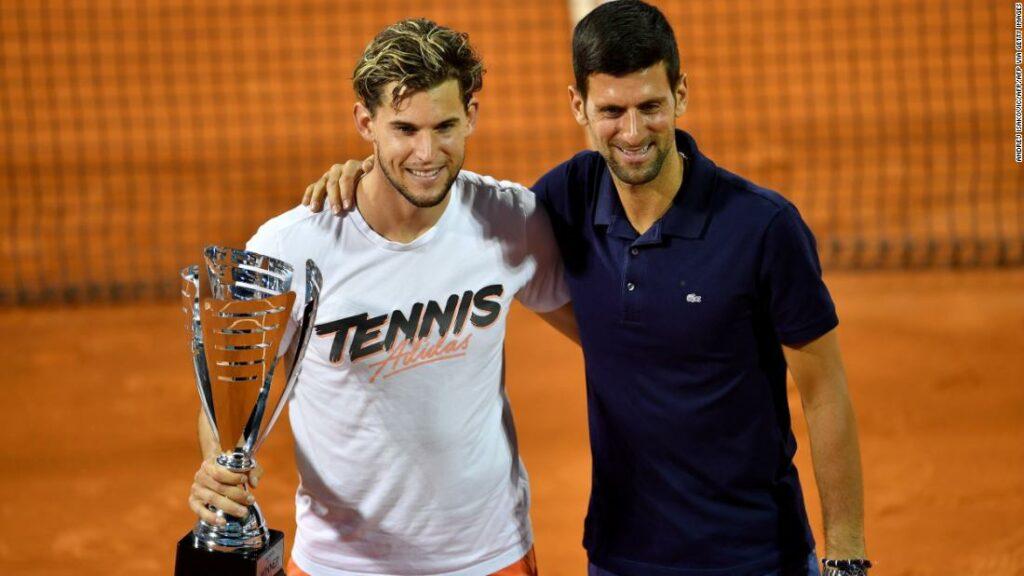 Dominic Thiem îl apără pe Novak Djokovic după controversatul tur al Adriei