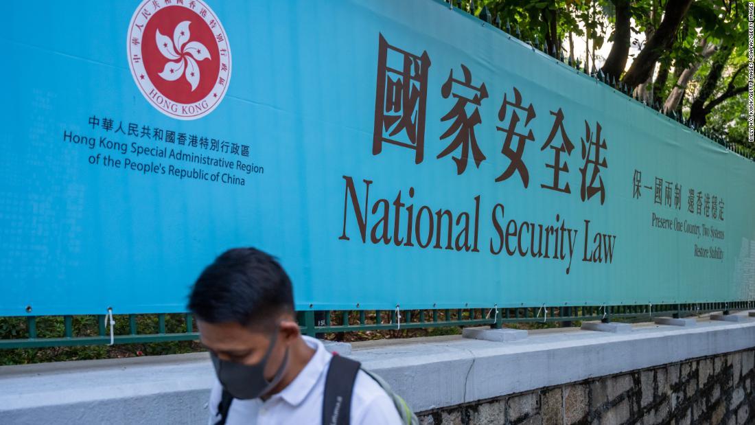 """Patru activiști studenți din Hong Kong au fost arestați pentru """"secesiune"""" pentru posturile de socializare"""