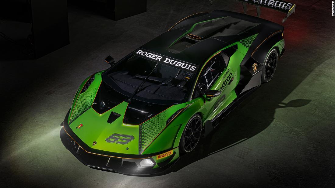 Noul supercar al lui Lamborghini nu are voie să conducă pe drumurile publice